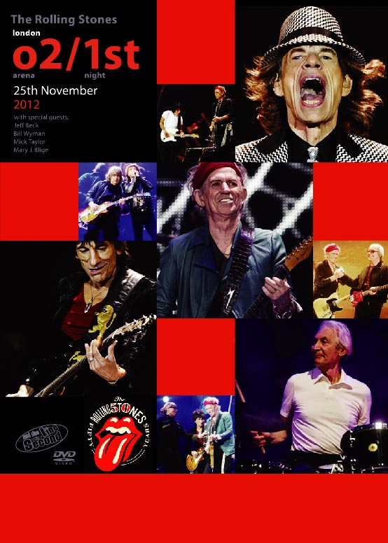 ROLLING STONES(���[�����O�X�g�[���Y) / London O2 Arena/1st Night