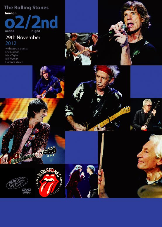 ROLLING STONES(���[�����O�X�g�[���Y) / London O2 Arena/2nd Night