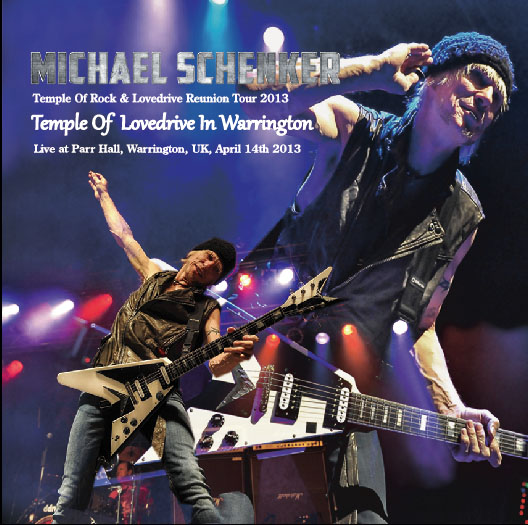 MICHAEL SCHENKER(マイケルシェンカー)Temple Of Lovedrive In Warrington