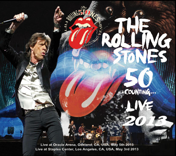 ROLLING STONES(ローリングストーンズ)50 & COUNTING…LIVE2013