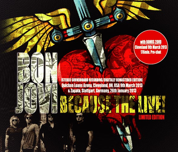 BON JOVI(�{���W�����B)Because The Live! ?Limited Edition-