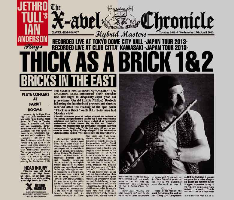 JETHRO TULL'S IAN ANDERSON(�W�F�X���E�^���Y�@�C�A���E�A���_�[�\��)Bricks In The East